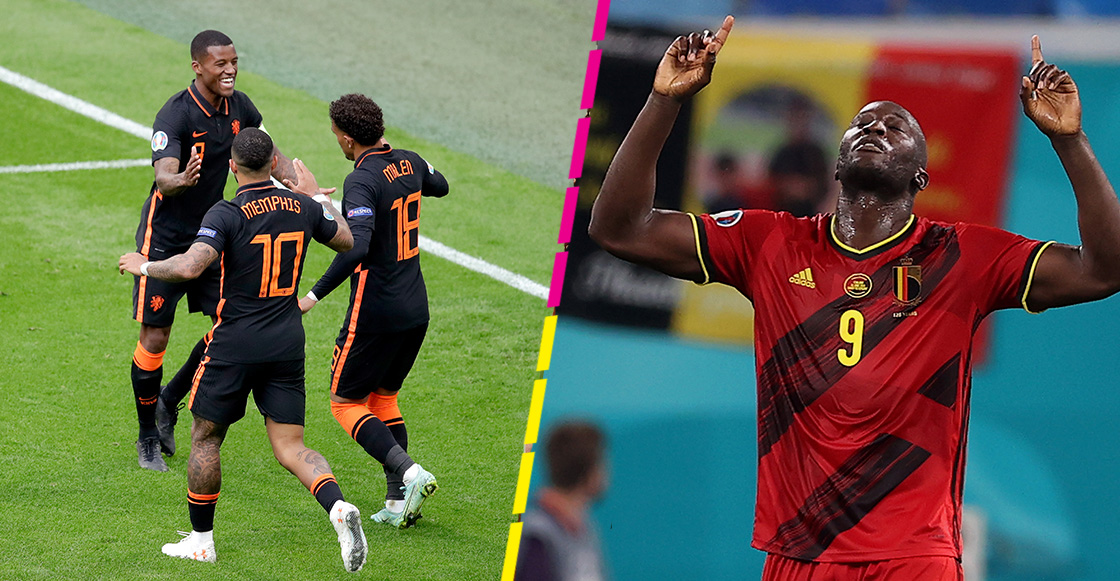 Los goles con los que Países Bajos y Bélgica sellaron su pase a octavos en la Eurocopa