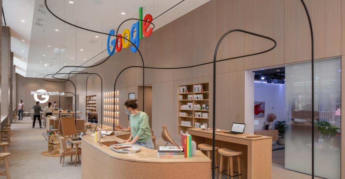 De lujo: ¡Así se ve la primera tienda física que Google acaba de abrir!