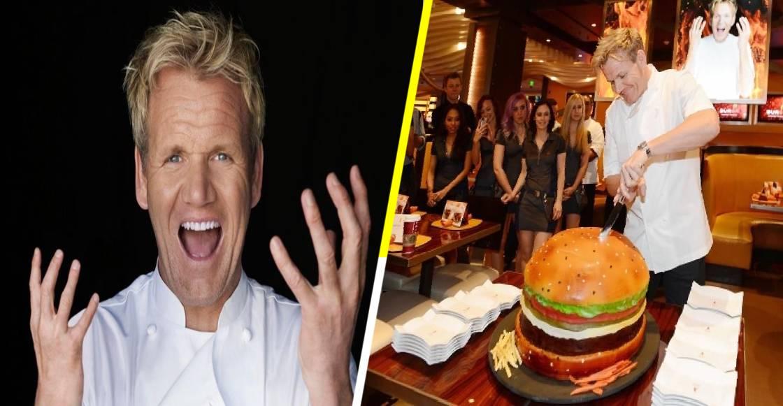 Así es la hamburguesa 'rompe mandíbula' de Gordon Ramsay