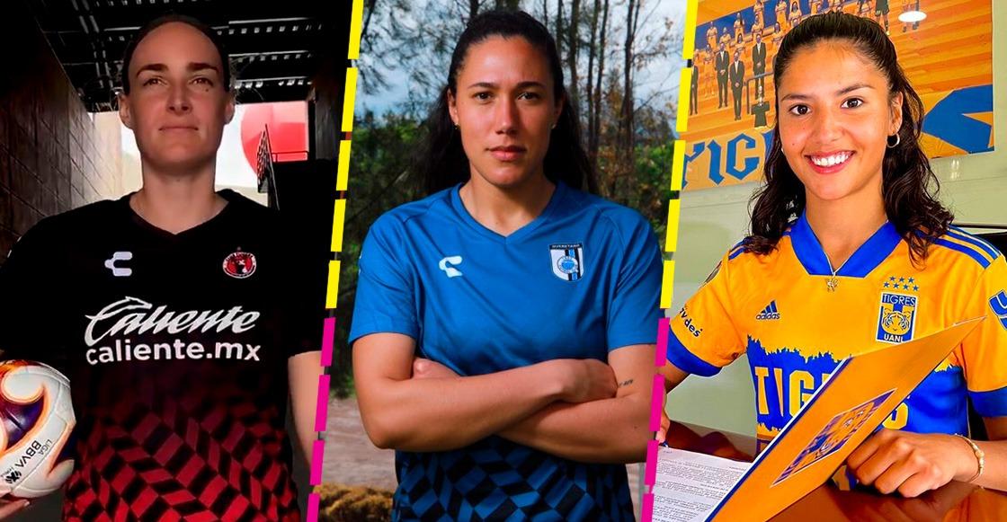 Ellas son las extranjeras que jugarán el Apertura 2021 de la Liga MX Femenil