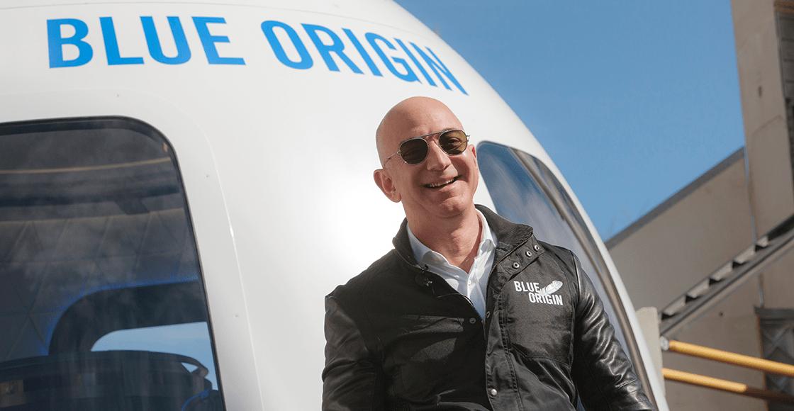¿Y Amazon? Jeff Bezos viajará al espacio en el primer vuelo tripulado de Blue Origins