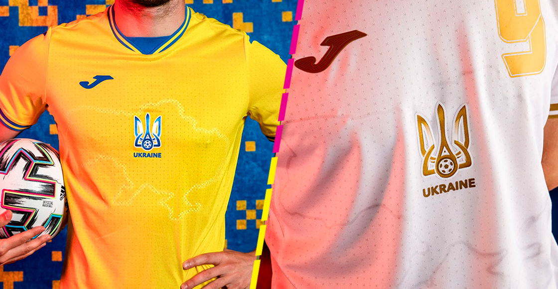 Jersey de Ucrania para la Eurocopa causa indignación en Rusia por territorio geográfico