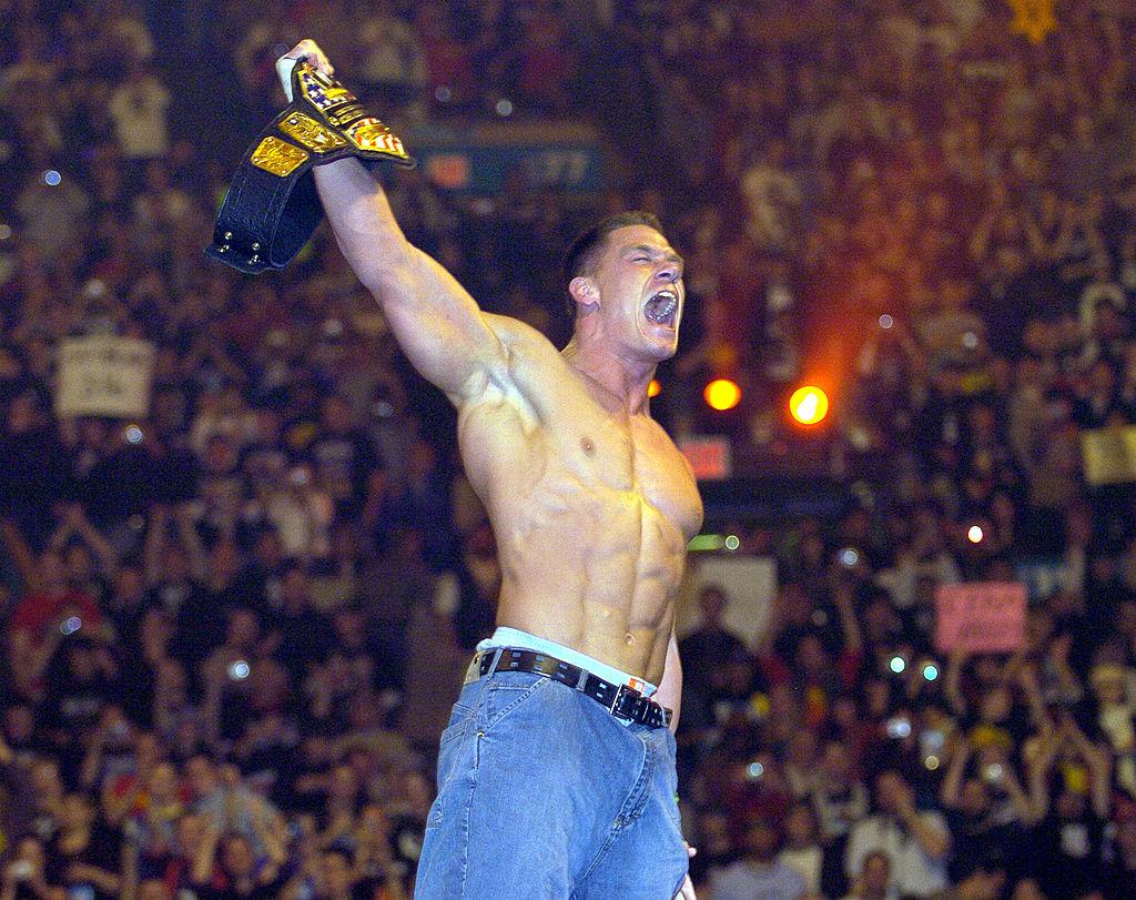 John Cena ganó el campeonato de los Estados Unidos en Wrestlemania XX