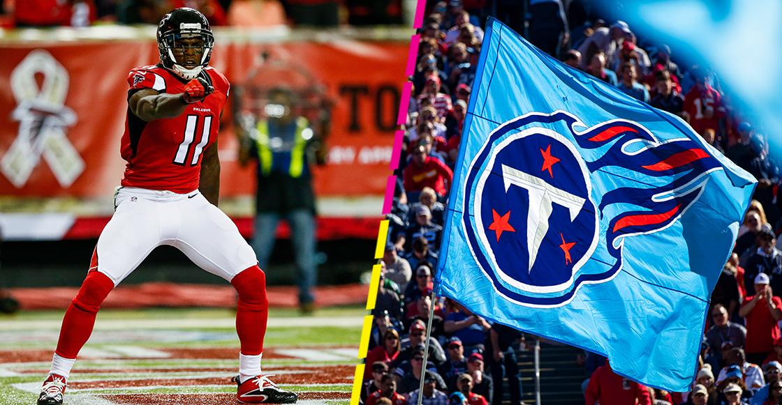 Julio Jones es nuevo receptor de los Tennessee Titans en la NFL