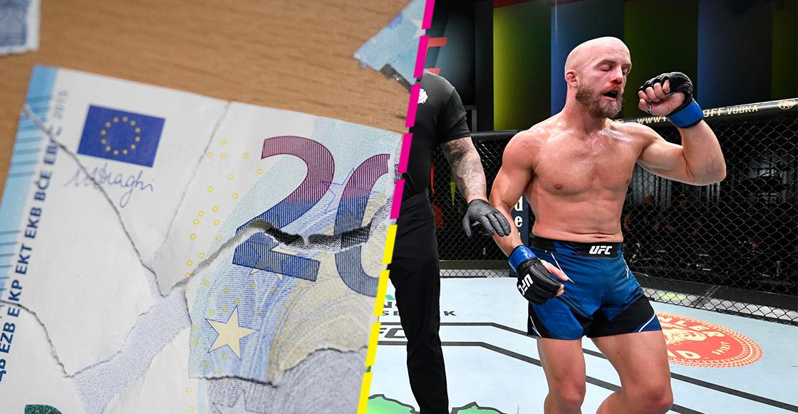 ¿Y el gasto? Justin Jaynes apostó todo el salario de su pelea de la UFC y perdió