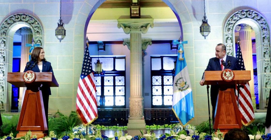 Vicepresidenta Harris conversa con presidente mexicano sobre migración ilegal