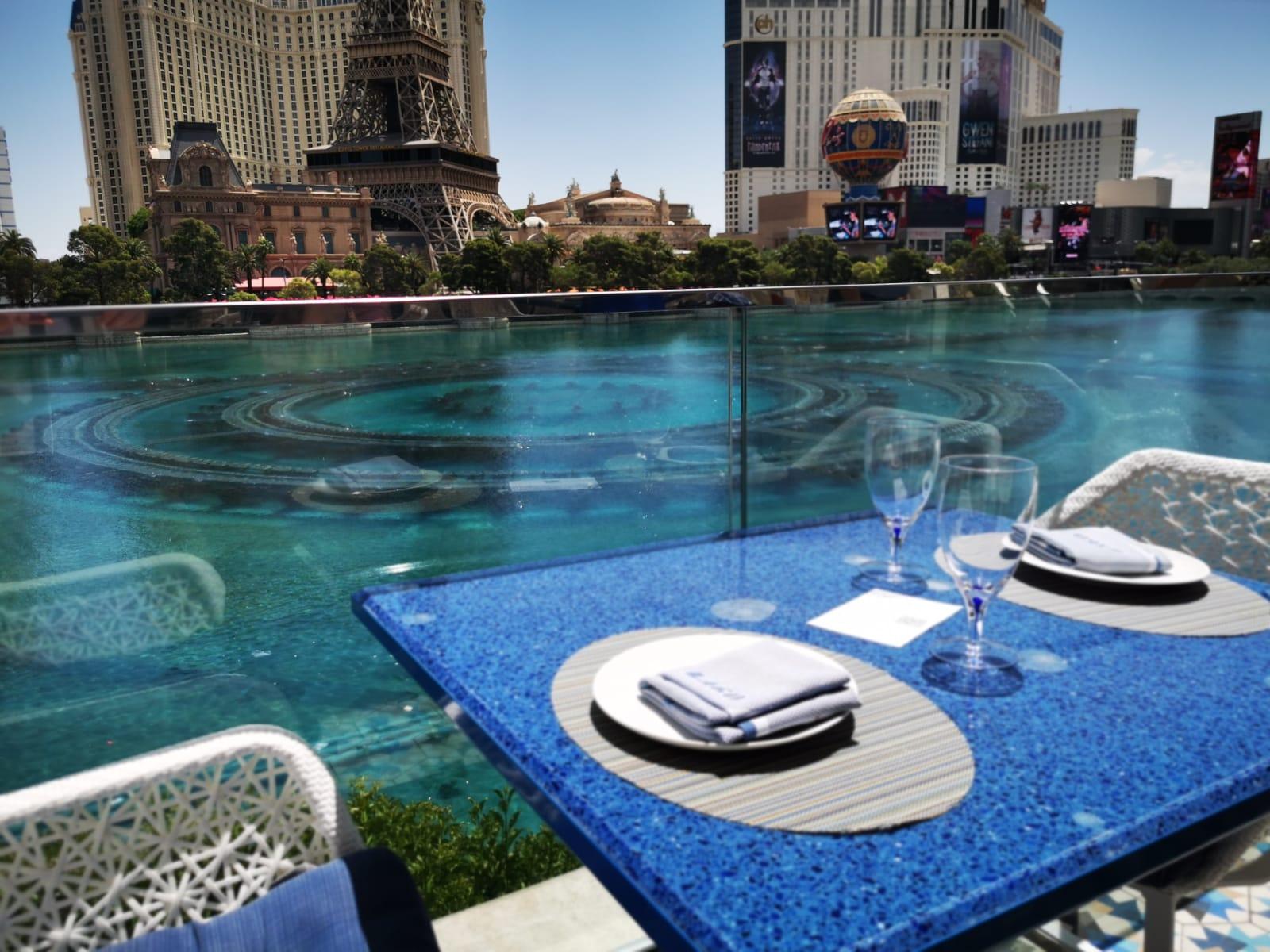 Restaurante Lago, en Las Vegas