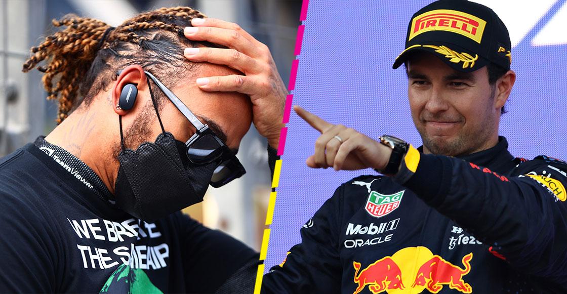 """Lewis Hamilton acepta que Red Bull es otro con Checo Pérez: """"Hace que sea más difícil"""""""