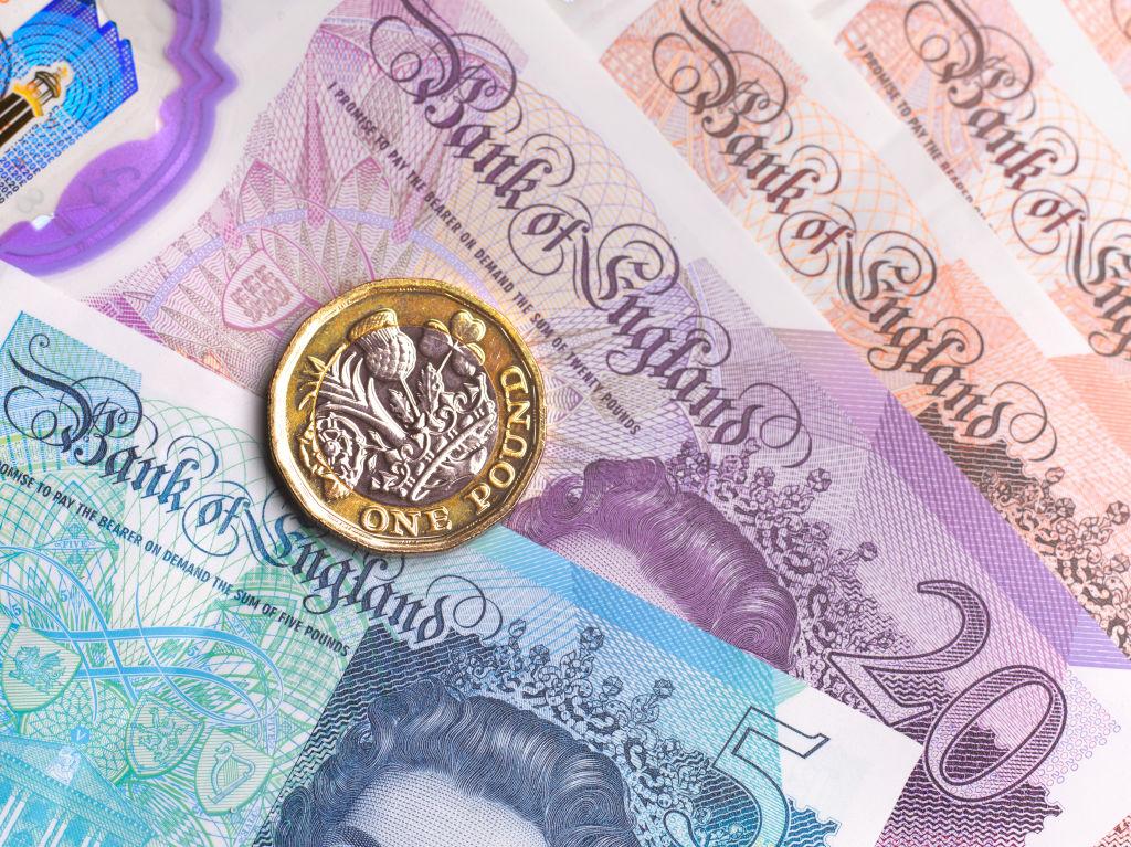 Moneda de Inglaterra: Libra esterlina