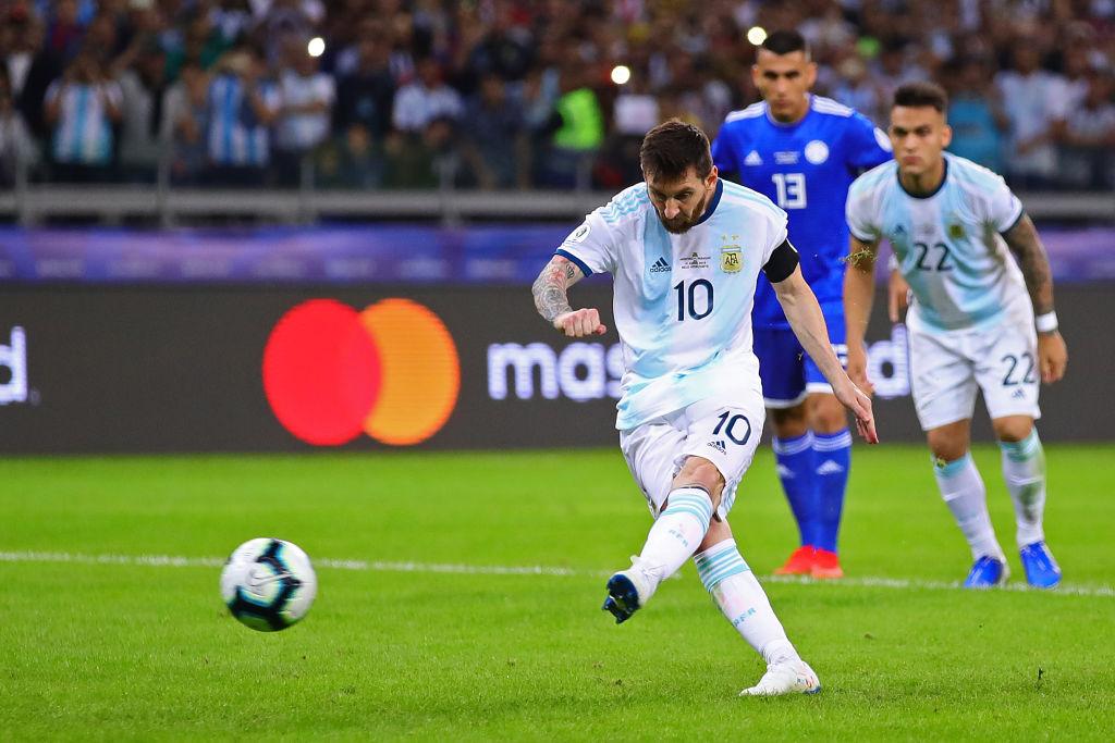Finales y estadísticas: Así le ha ido a Lionel Messi en la Copa América