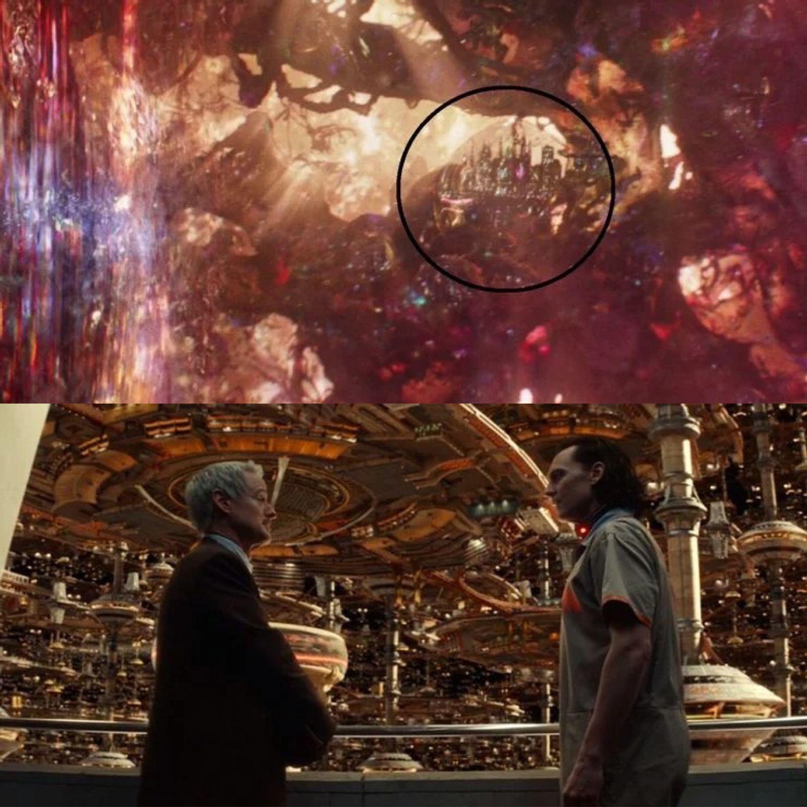 Imagen comparativa de 'Loki'.