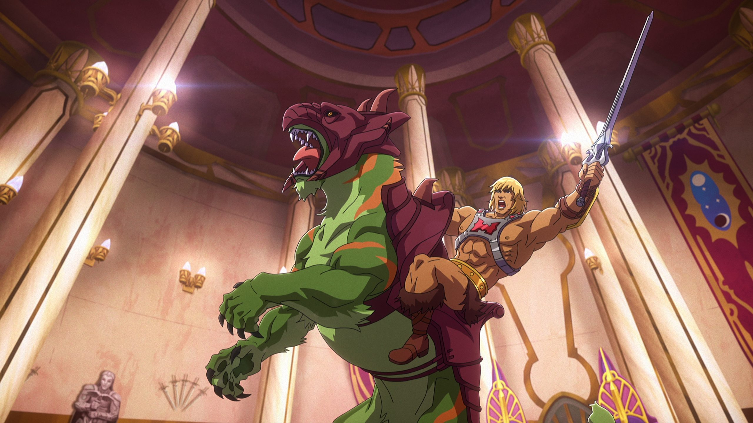 ¡He-Man está de vuelta! Checa el primer teaser de 'Masters of the Universe: Revelation'
