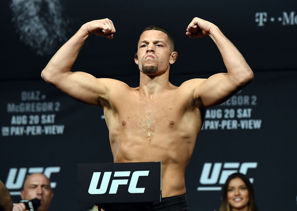 Nate Diaz regresa al octágono en UFC 263