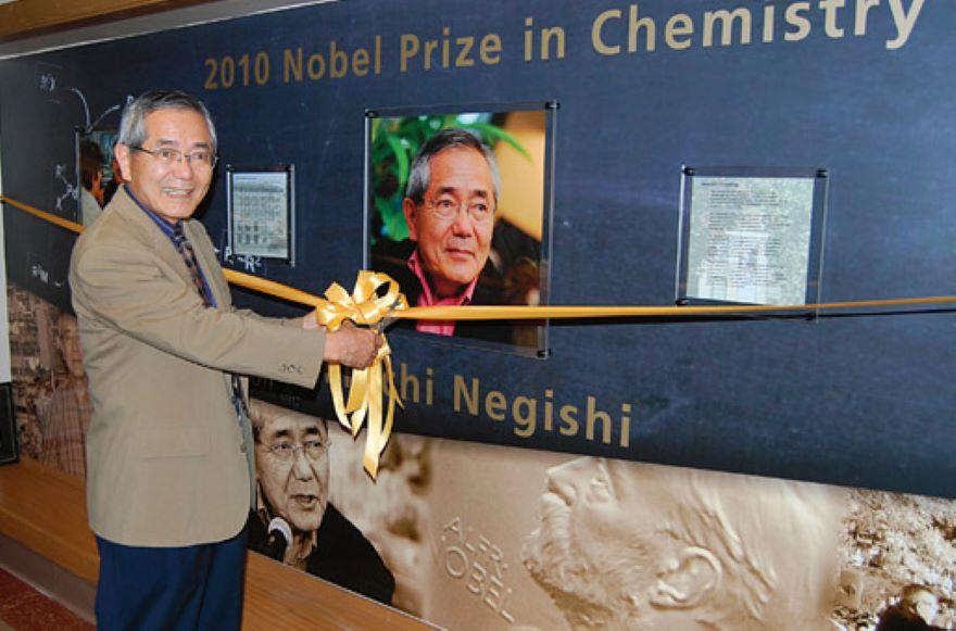 ¡Nooo! Falleció Eiichi Negishi, premio Nobel de Química 2010