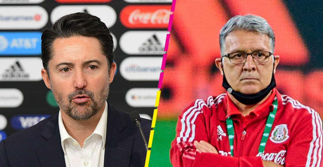 Las palabras de Yon de Luisa y Martino tras el veto a la Selección Mexicana por el grito homofóbico