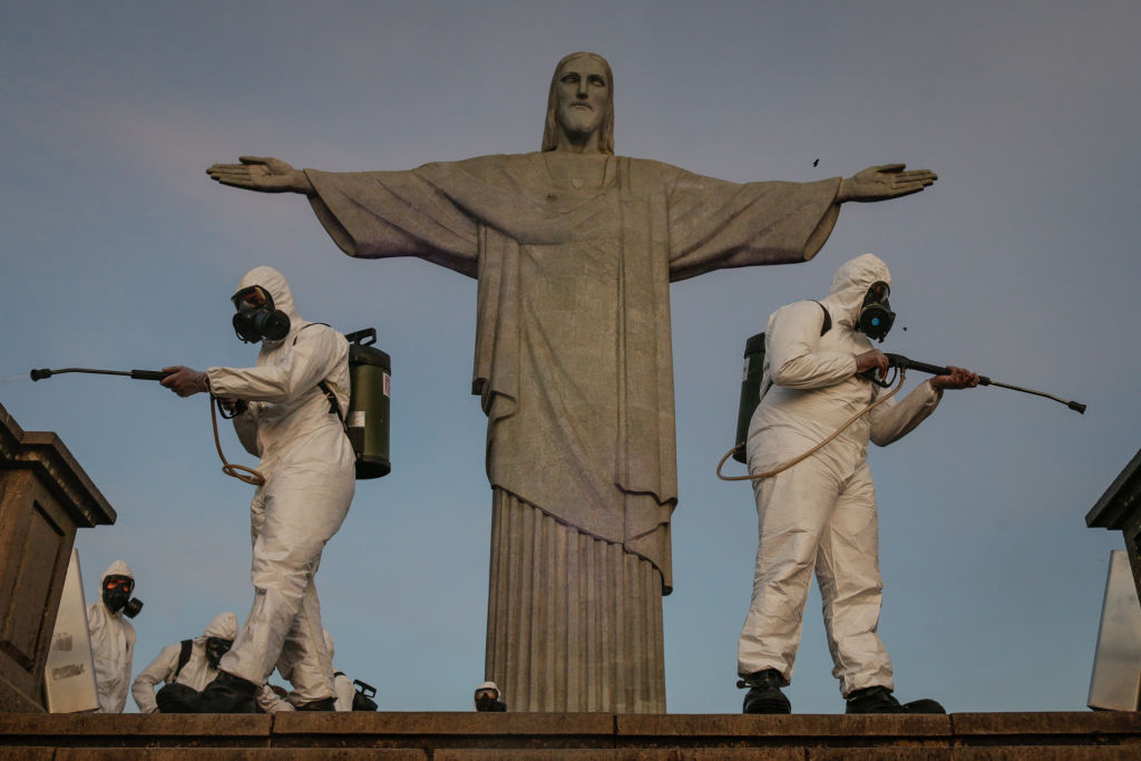 Brasil se enfrenta a una situación complciada con el COVID-19