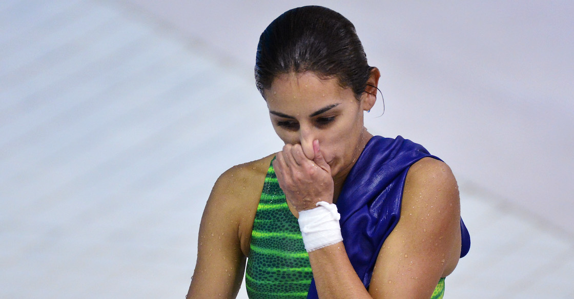 Paola Espinosa fuera de juegos olimpicos