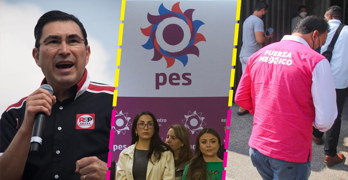 Adiós Fuerza por México, Encuentro Solidario y Redes Sociales Progresistas; perderán registro