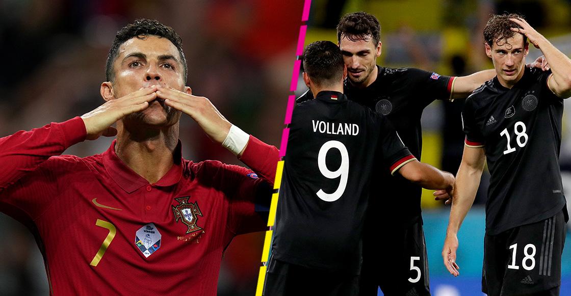 Alemania casi la cruzazulea: Pásale a ver todos los goles del día en la Eurocopa