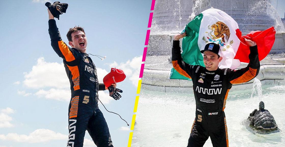 ¿Quién es el mexicano 'Pato' O'Ward y por qué es importante su triunfo en el GP de Detroit en la IndyCar?