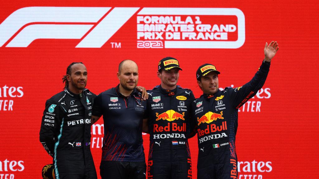 """Checo Pérez destaca el trabajo de Red Bull en el GP de Francia: """"Tuvimos una gran estrategia"""""""
