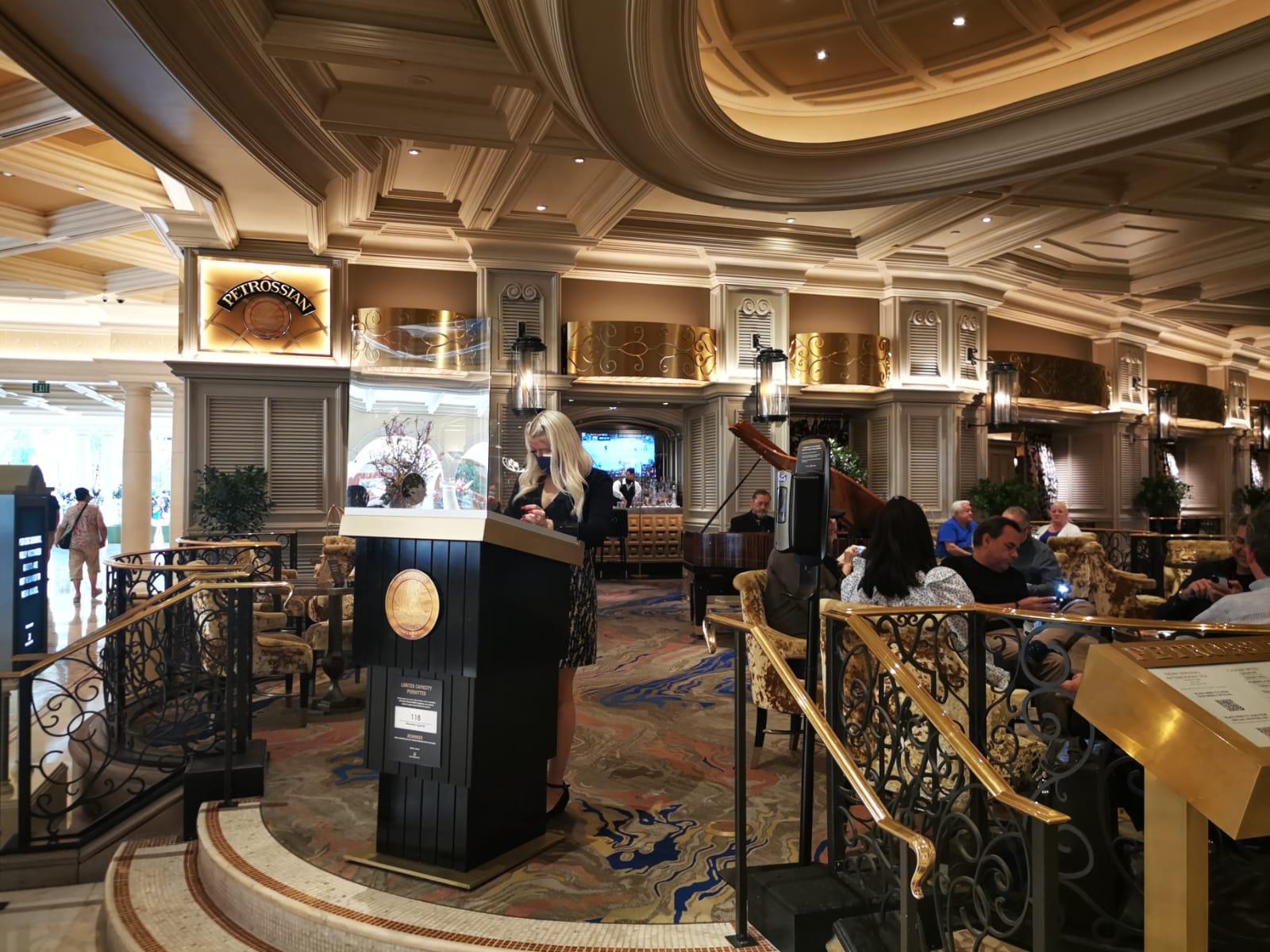 Petrossian en Las Vegas
