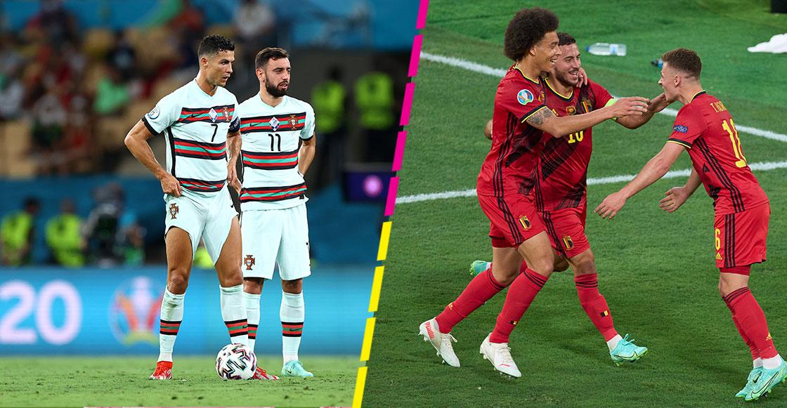 ¡Adiós al campeón! El gol con el que Bélgica despachó a Cristiano Ronaldo y Portugal de la Eurocopa