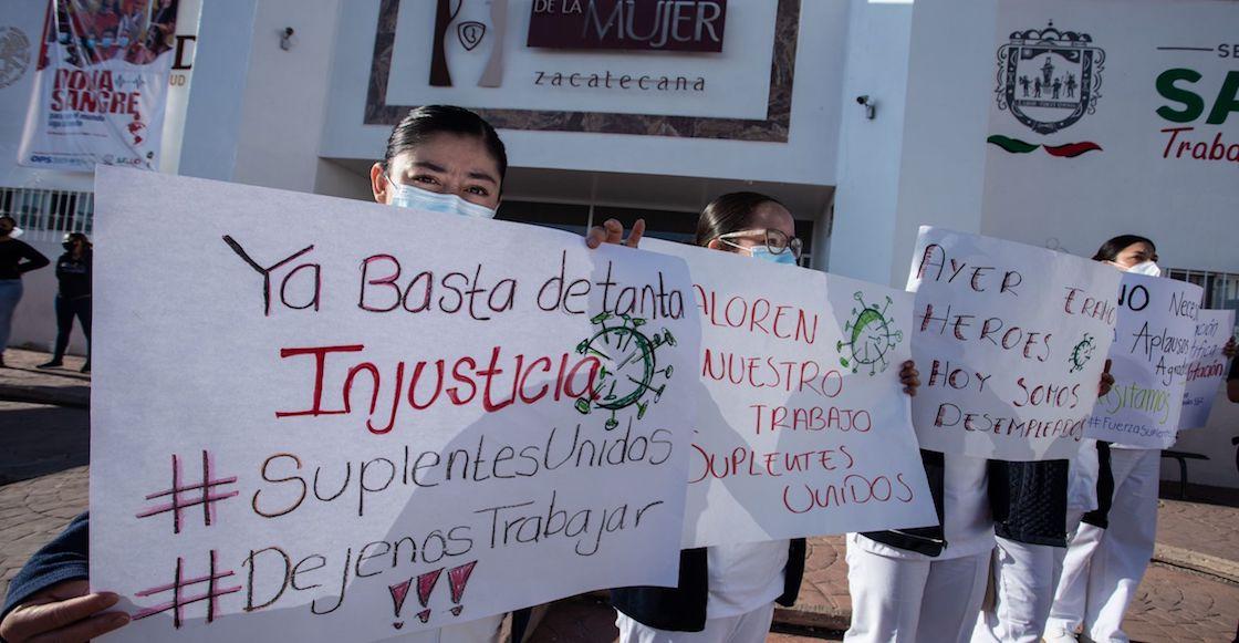 protesta-enfermeras-zacatecas-secretaria-salud