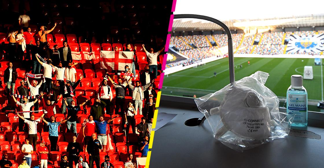 ¿Cuál será el protocolo para los aficionados extranjeros que asistan a la final de la Eurocopa en Wembley?