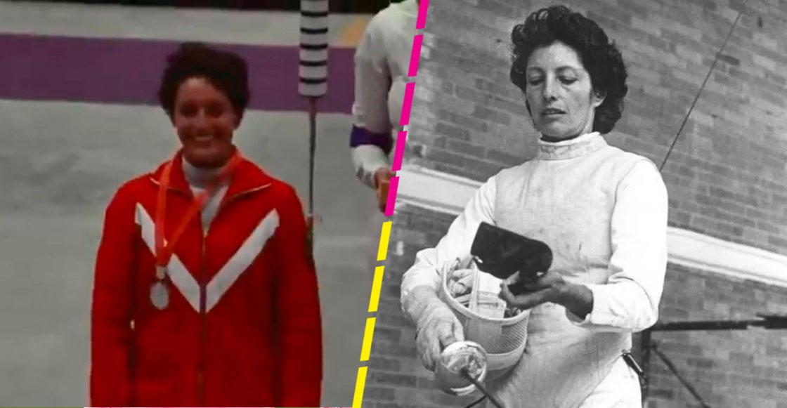 María del Pilar Roldán, la primera mujer mexicana que ganó una medalla olímpica