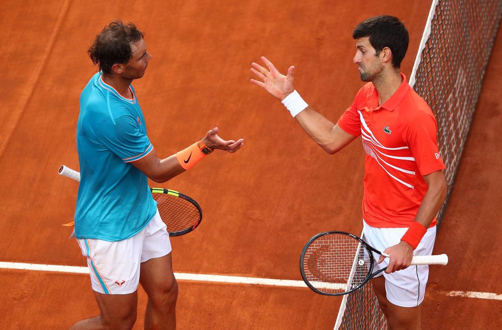 Rafael Nadal vs Novak Djokovic
