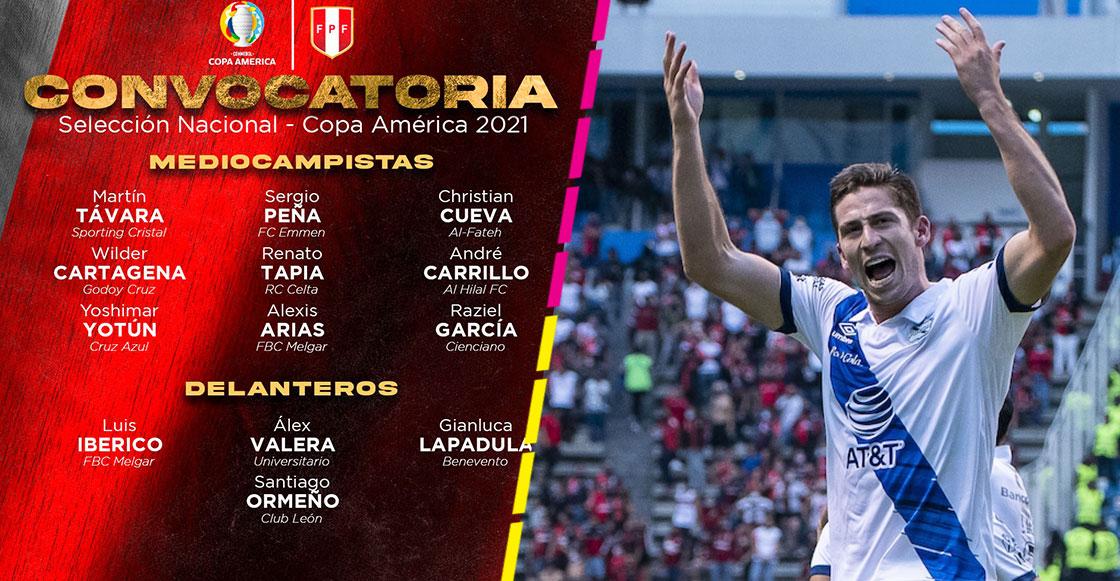 ¡Duren! Santiago Ormeño es convocado por Perú a la Copa América