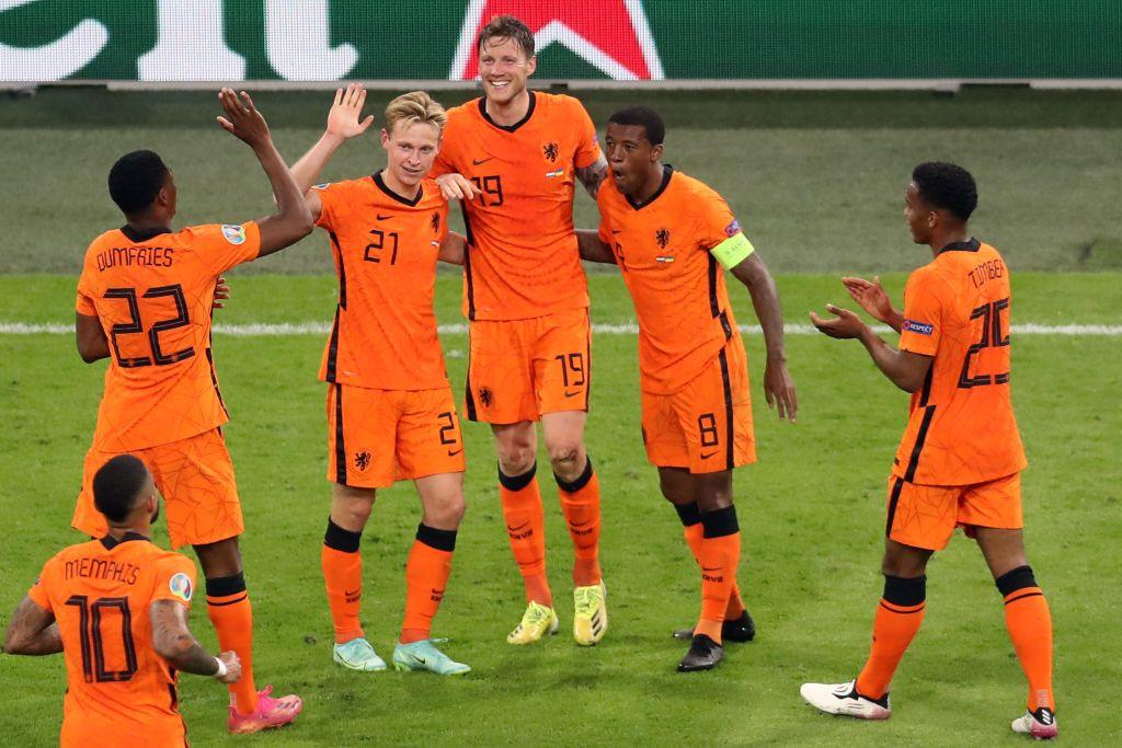 Selección Países Bajos en la Euro 2020