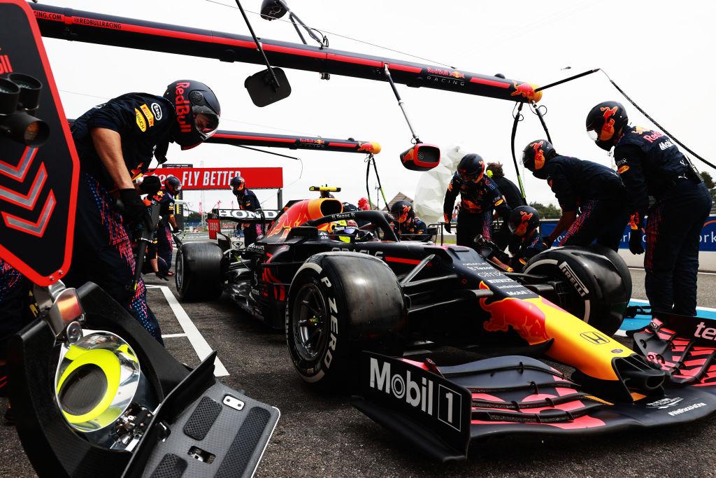 ¡Final cardiaco! Checo Pérez se subió al podio del Gran Premio de Francia