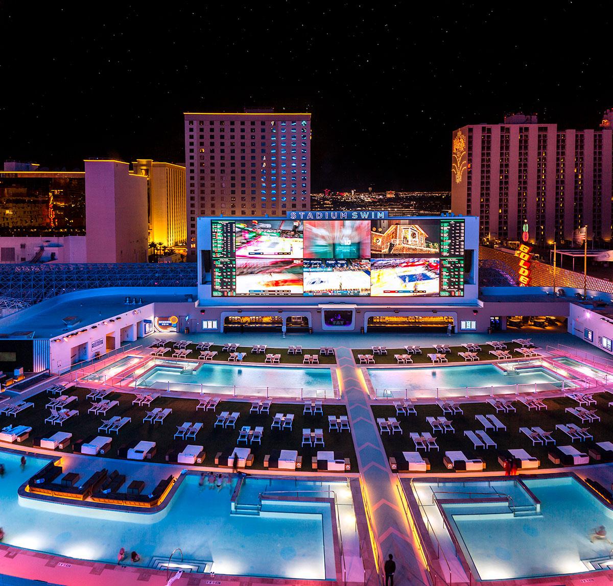 Stadium Swim en Las Vegas
