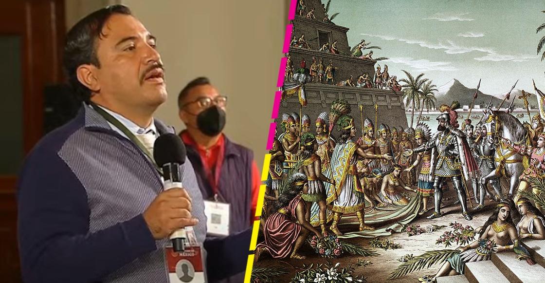 """Proponen a AMLO reconstruir Tenochtitlán, """"como Disney"""", en terreno del NAIM en Texcoco"""