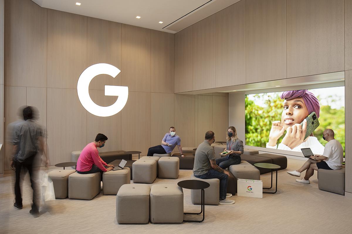 Así luce la primera tienda física de Google
