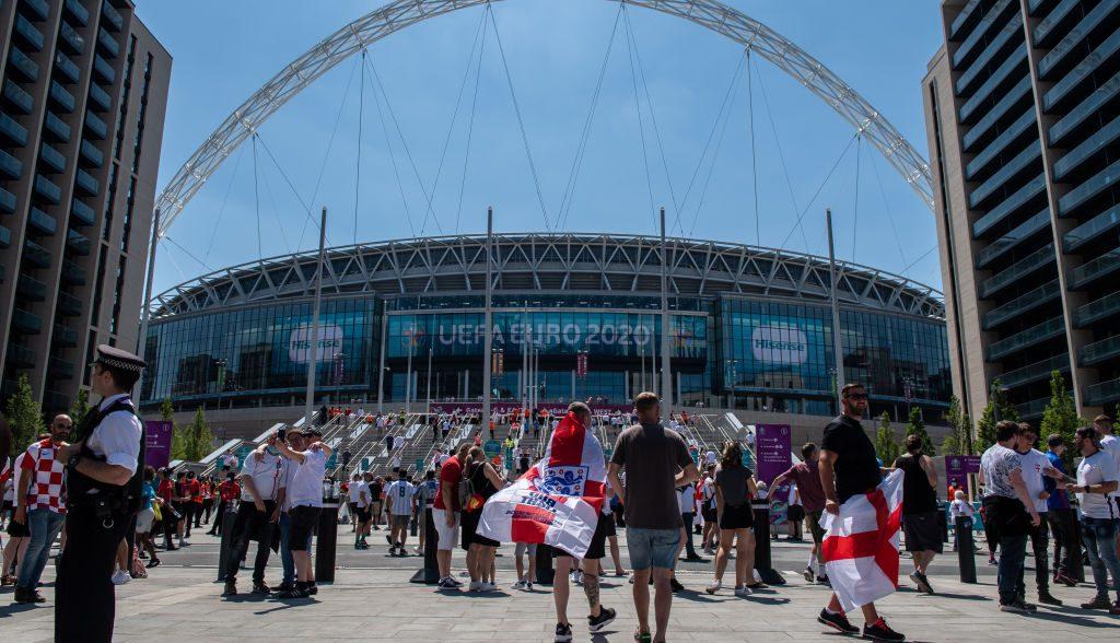 Medidas sanitarias y mayor aforo: Así será el cierre de la Eurocopa en Wembley