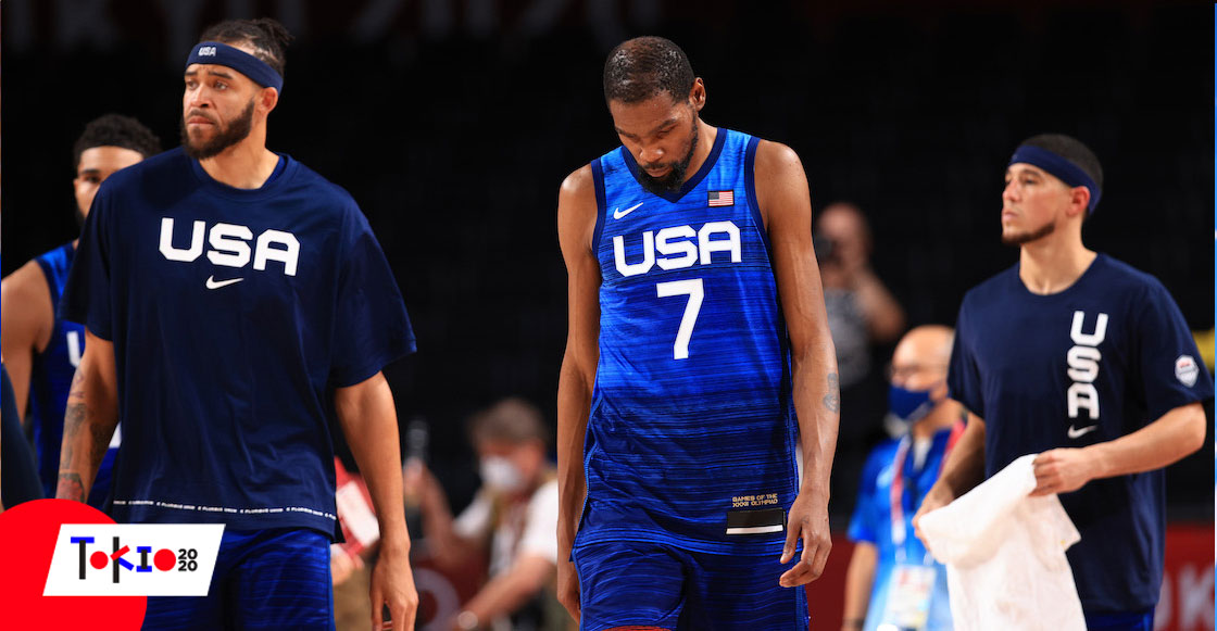 ¿No que muy Dream Team? Estados Unidos vuelve a perder en basquetbol olímpico después de 17 años