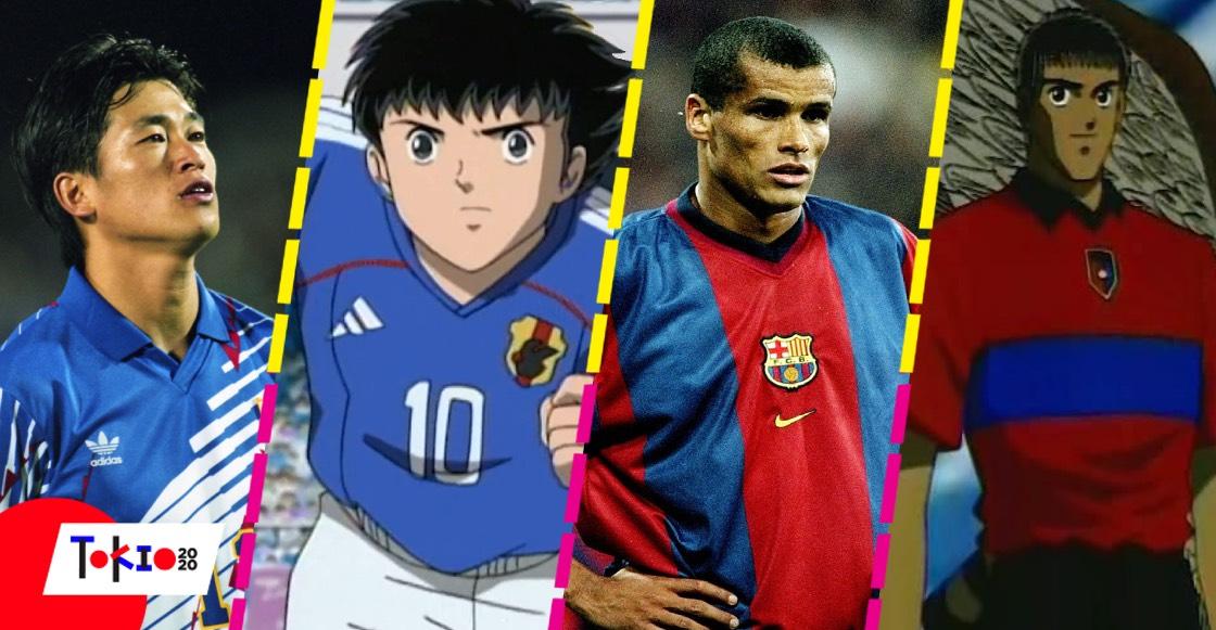 5 personajes de 'Los Supercampeones' basados en futbolistas reales