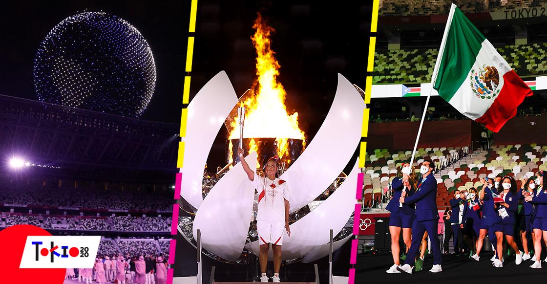 7 momentos memorables de la inauguración de los Juegos Olímpicos Tokio 2020