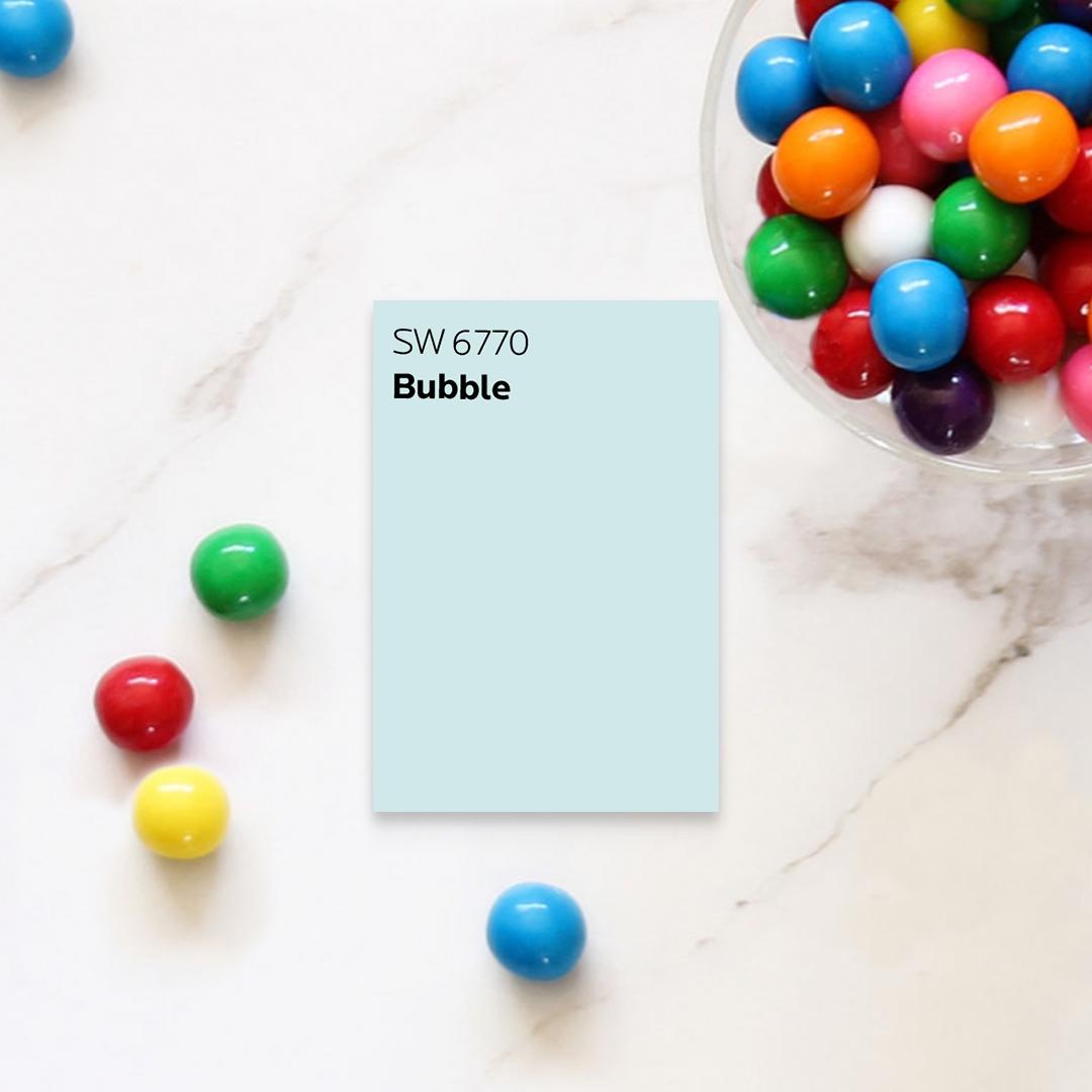Azul Bubble de Sherwin-Williams