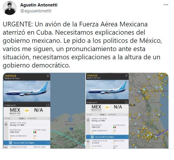 Fuerza Aérea Mexicana Cuba 3