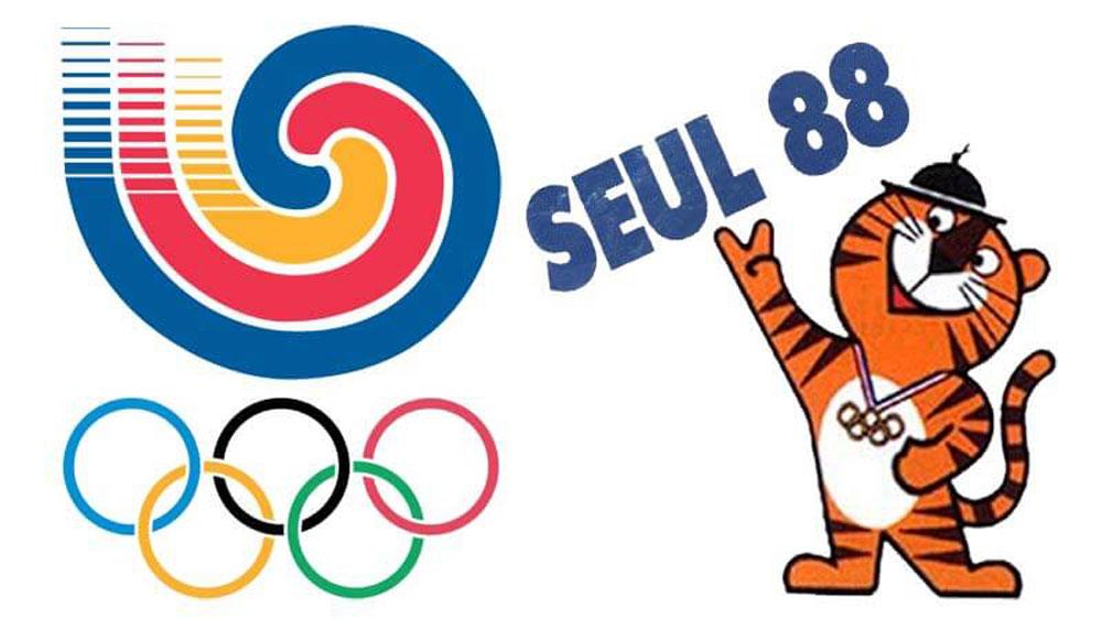 Hodori es la mascota olímpica de Seul 88