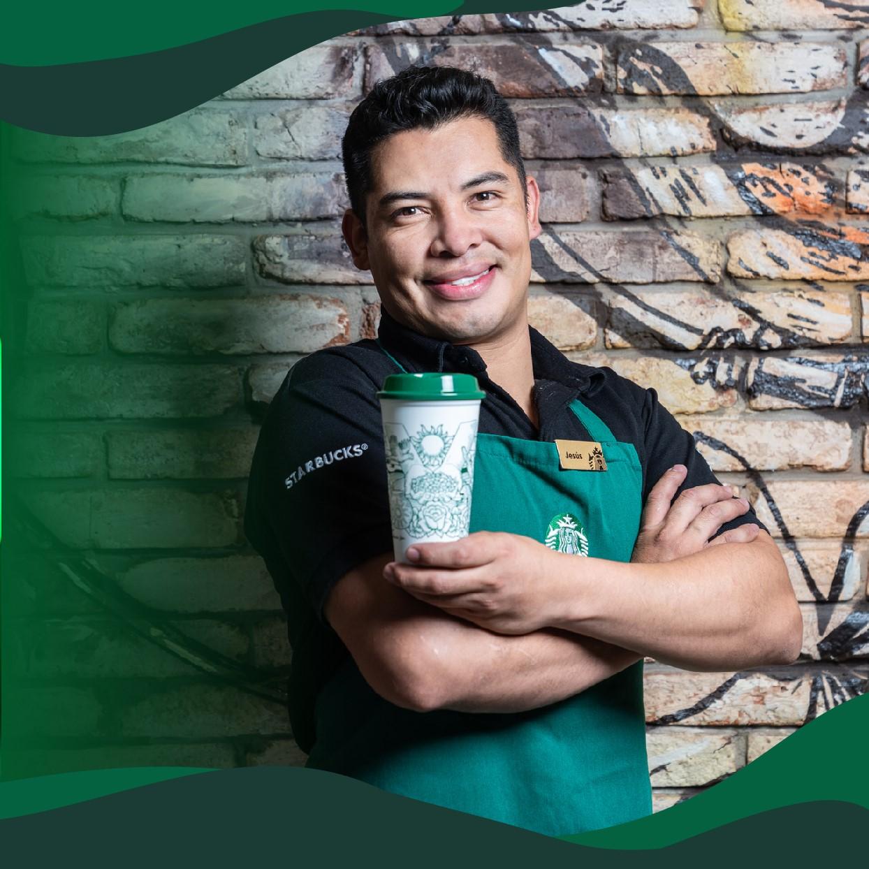 José de Jesús Barrera León, barista de Starbucks