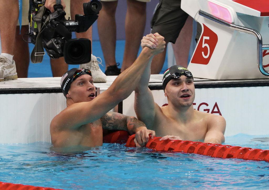 Las rivalidades que dejó la natación en los Juegos Olímpicos de Tokio 2020