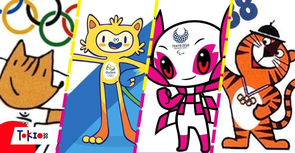 Las mejores mascotas en la historia de Juegos Olímpicos