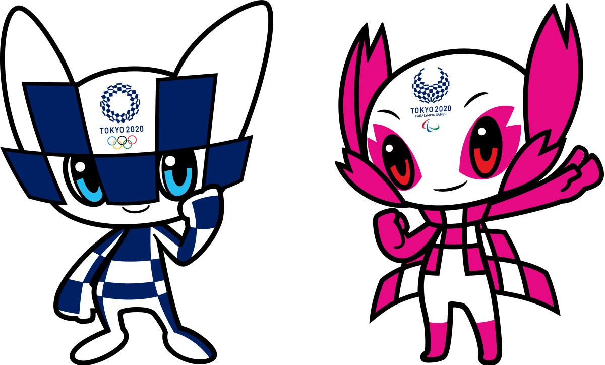Miraitowa y Someity las mascotas oficiales de Tokio 2020