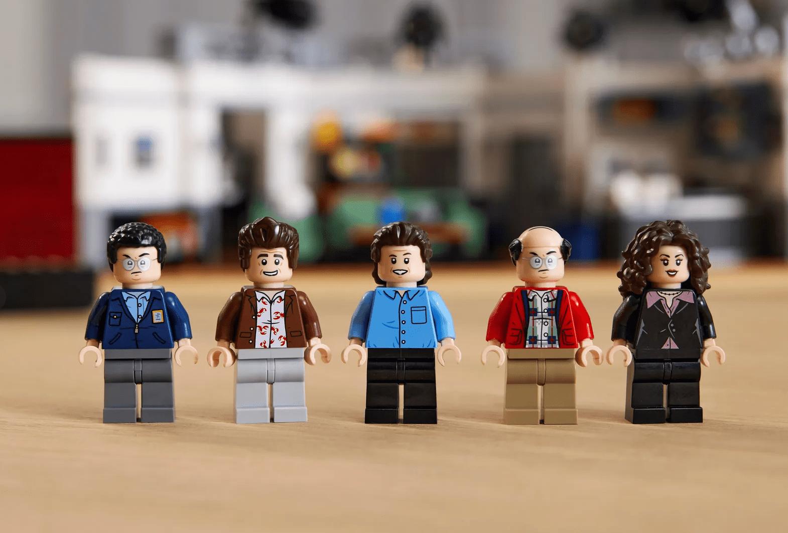 Tomen todo mi dinero: ¡LEGO lanzará un nuevo set de 'Seinfeld' para los fans true!