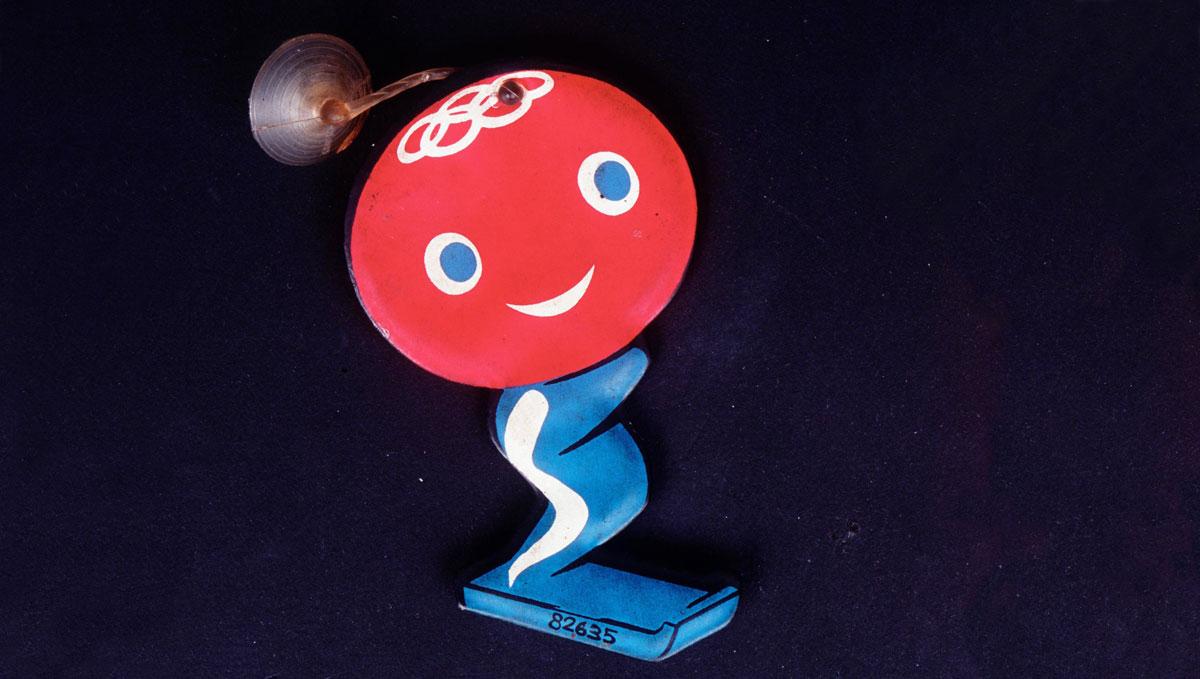 Shuss es la primera mascota olímpica de la historia